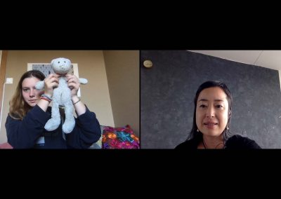 Interview over Zoom Photograph: Yuka Oyama